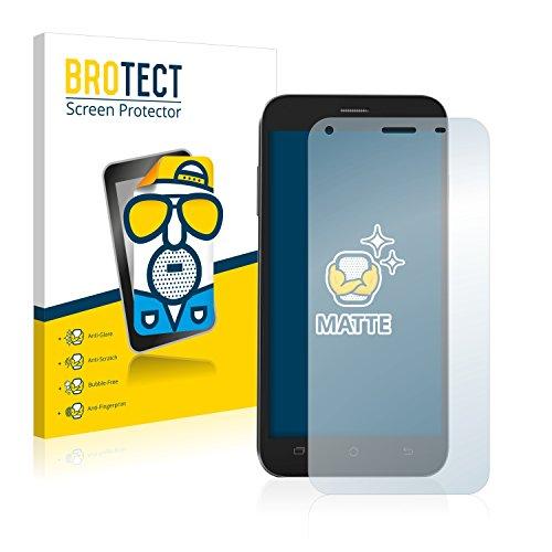 BROTECT 2X Entspiegelungs-Schutzfolie kompatibel mit Archos 50 Helium+ Bildschirmschutz-Folie Matt, Anti-Reflex, Anti-Fingerprint