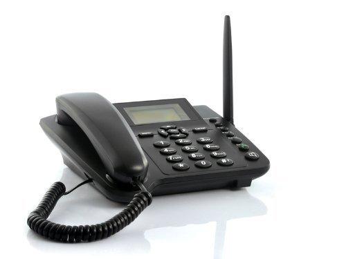 BW Wireless GSM Desktop Phone - Desktop Style Phone with SIM Card Sl