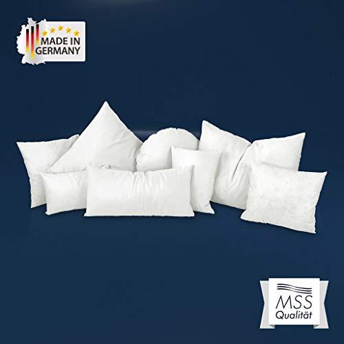 MSS® Kleinkissen, Sofakissen und Kuschelkissen - 25 cm x 25 cm - Füllgewicht: 110 Gramm
