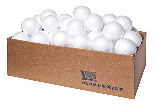 Boule en polystyrène VBS, Ø 12 cm, 50 pc.