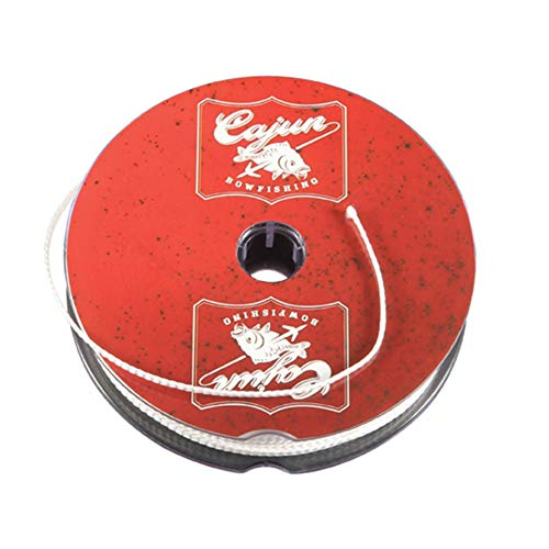 Cajun Bowfishing 25-Yard Spool of Premium Bowfishing Line with Superior Resistance to Wear or Breakage up to 250 lbs