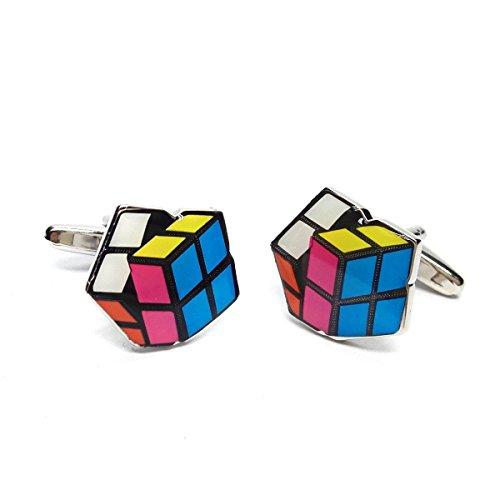 Casse-Tête Puzzle Cube Boutons de manchette (X2SJ005)