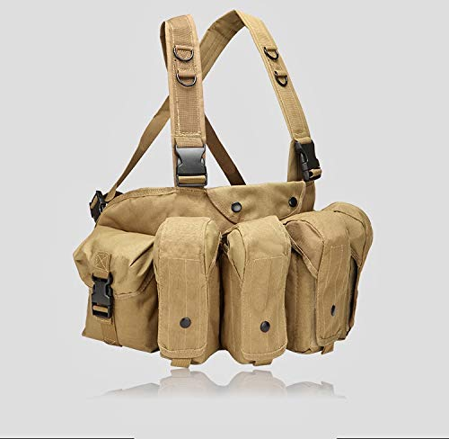 Emproda Universal AR AK Chest Rig for Training, Hunting, Airsoft, Operation (Coyote Brown)