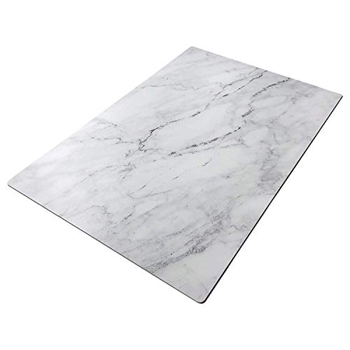 Bessie Bakes Marble Replicated Backdrop Board for Food & Product Photography 2 ft x 3ft | 3 mm Thick Moisture Resistant Stain Resistant Lightweight