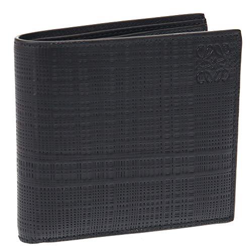 [ロエベ]2つ折り財布メンズLOEWELINENBIFOLDリネンエンボス加工レザーC525302X035251100ブラック[並行輸入品]