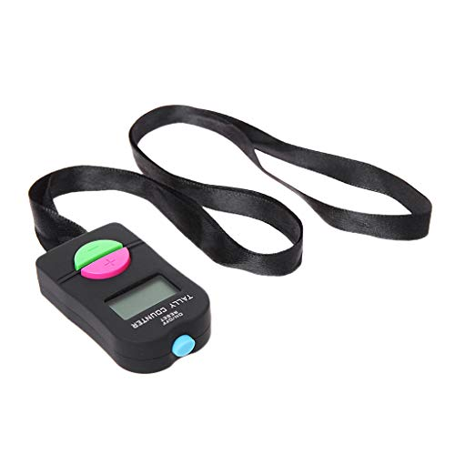 Q connect-KF10860-tally counter compte 0-9999