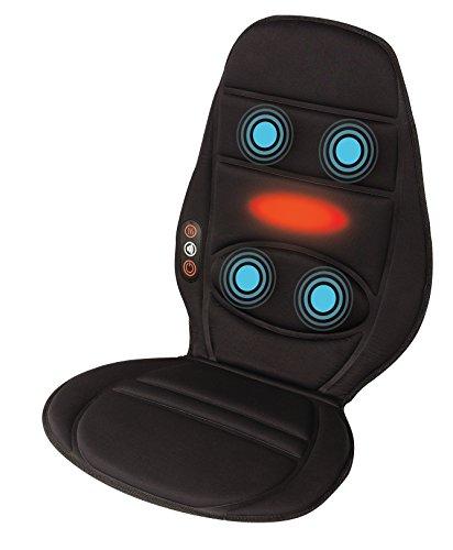 Homedics BKP-112HA-EU Massageauflage mit Vibrationsmassage zur Benutzung im Auto