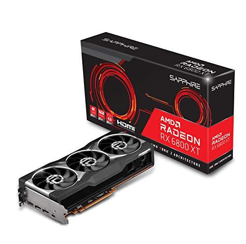 SAPPHIRE AMD Radeon RX 6800 XT - Scheda grafica da gioco con GDDR6 da 16 GB, AMD RDNA 2