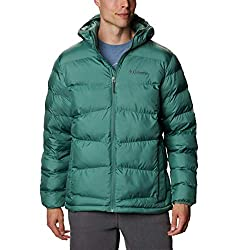 Columbia Men's Fivemile Butte Hooded Jacket, Thyme Green, Small