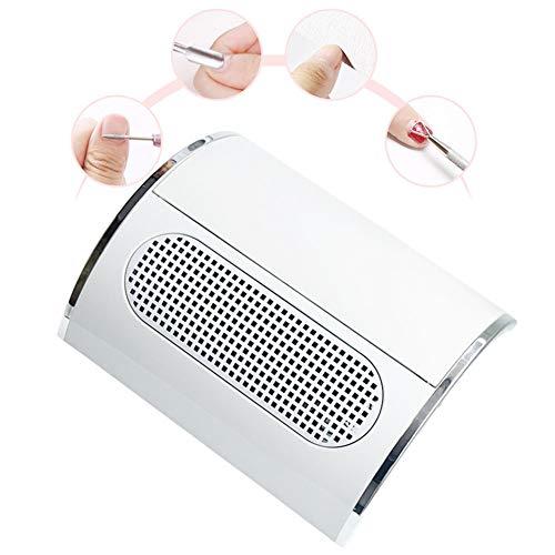 XHH Nagel Staubsauger,High Power Saug Staubsammler Maschi Nägel Fan für Maniküre und Pediküre professionelles Werkzeug [Energie-Effizienzklasse