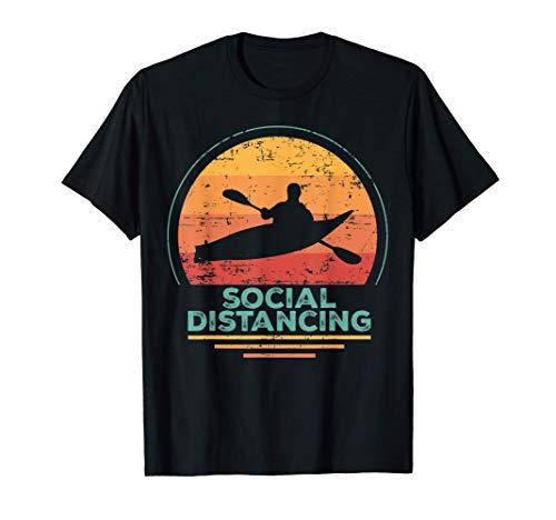 Camisa Kayac, Kanu - Experto en distanciamiento social Camiseta