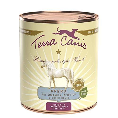 Terra Canis Comida húmeda para perros, diseño de caballo, 6 x 800...