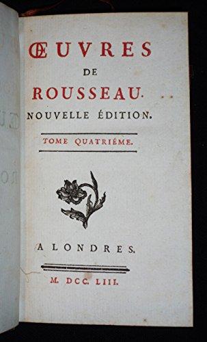 Oeuvres de Rousseau, nouvelle édition (Tome 4) : Les Aïeux chimériques. Jason. Vénus et Adonis
