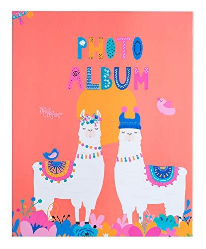 Erik® - Album foto 13x20 cm, 200 tasche, copertina rigida - Llama