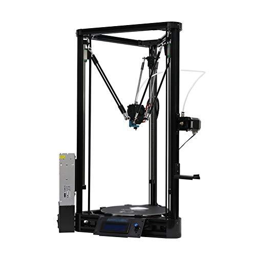 LINDANIG 3D Imprimante 3D Impresora Niveau Automatique Plate-Forme Poulie de Guidage linéaire Plus Grande Taille d'impression de Bureau Kit DIY (Couleur : Noir)