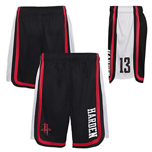 OuterStuff NBA Houston Rockets James Harden #13 - Pantalón corto de baloncesto (talla S)