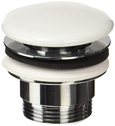 Roca  - Click-clack desagüe universal. tapón cerámico 65 ø . Desagües para lavabos y bidés. Ref. A525438105