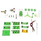 PETSOLA Science Laboratoire de Physique Circuits de Base d'apprentissage kit de débutant Électricité et Magnétisme Expérience - #1 Multi