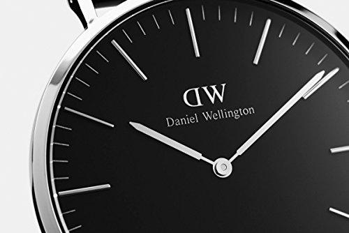 Daniel Wellington Mixte Analogique Quartz Montre avec Bracelet en Cuir DW00100145