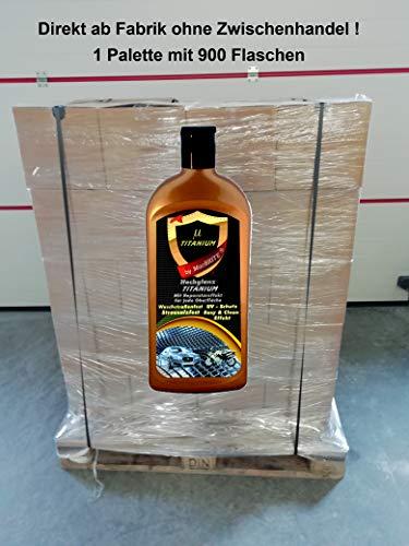 MacBrite µTITANIUM *Hochglanz*Schutz* VERSIEGELUNG Palette mit 900 Flaschen