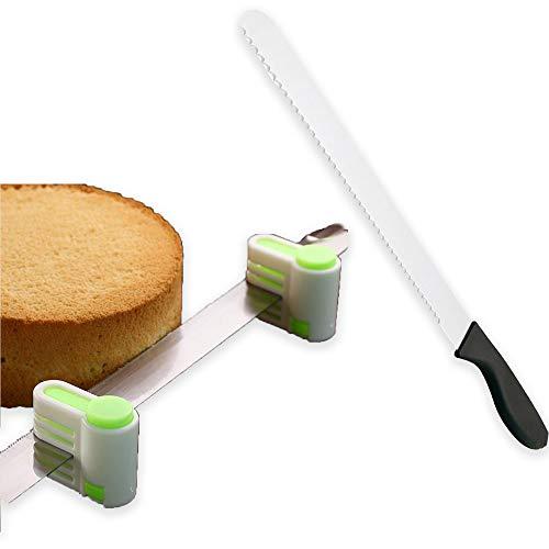 Cuchillo de pan serrado de 10 pulgadas, cuchillo tostador de acero inoxidable antiadherente y mango antideslizante, forja manual tradicional
