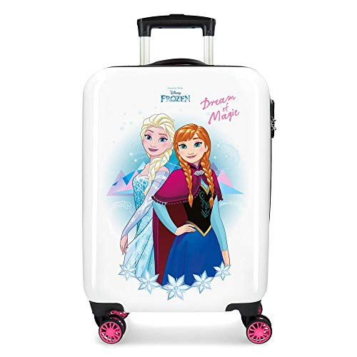 Disney 4721461 Maleta de cabina rígida Frozen Dream of Magic, 55 cm, Multicolor