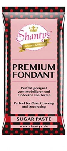 Shantys Premium Fondant / Rollfondant - ROT - 1 Kg