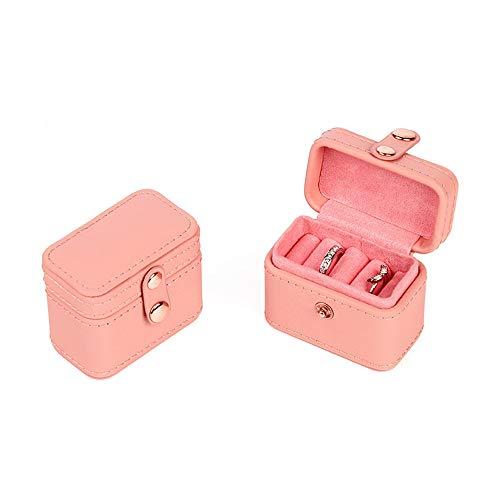 Afzos Ring Box Small Jewelry Box Girls Jewelry Organizer Mini Travel Case Ring Storage Box