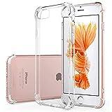 Hually Funda iPhone 8 Plus/iPhone 7 Plus Carcasa,[Silicona TPU] Gel [Ultra Fina] [Protección a Bordes y Cámara][Protección Grosor Fino] 5.5' –Transparente