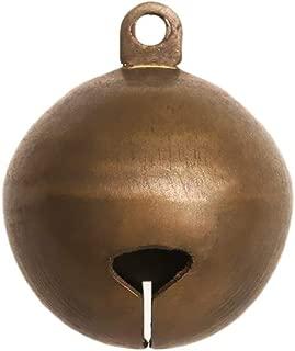 3 Brass Timbres para puerta Timbre de campana para puerta con soporte de fijaci/ón