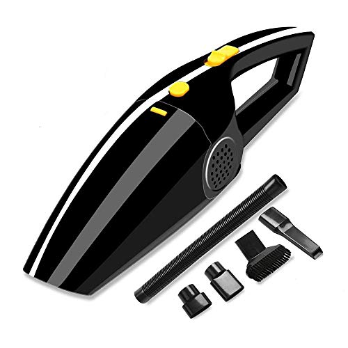 Best Buy! Hand-Held Cordless Vacuum Cleaner Portable Vacuum Cleaner, Car and Household Cleaners, Wet...