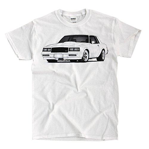 Buick Grand National 1986 - White Shirt (XL)