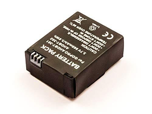 AGI - Batería de repuesto compatible con GoPro CHDHN-301