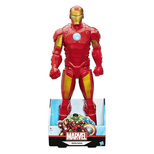 Marvel Figura Iron Man, Multicolor (Hasbro Spain b1655EU4)