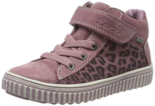 Lurchi Mädchen YULI-TEX Hohe Sneaker, Rot (Sweet Rose 23), 35 EU