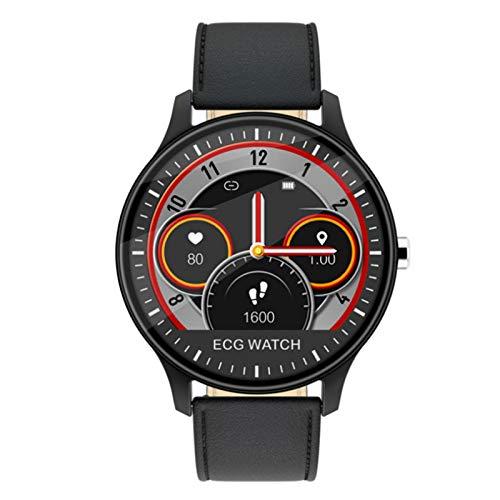 Wsaman Rastreador Deportes Reloj Fitness Tracker Smartwatch Color Screen Pulsera Actividad Inteligente Impermeable IP68,con Pulsómetro Monitoreo del Sueño para Android/iOS/Hombre/Mujer,Negro