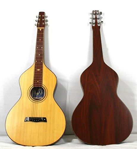 'Musikalia Gitarre Hawaiian Lap Steel Guitar Weissenborn Solide Akustikgitarre Style 4Copy aus Padouk, Lackierung Satin, für Geigenbauer