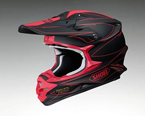 Casco Mx Shoei Vfx-W Hectic Tc1 Rosso (L , Rosso)