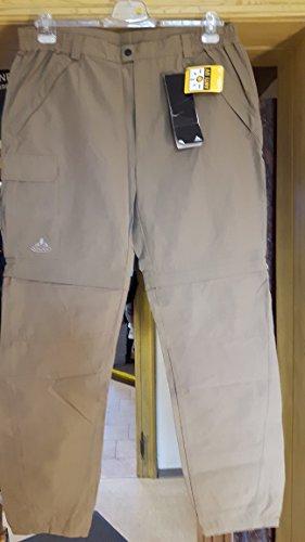 VAUDE Aosta Olive Zip Pantalon de Pantalon de randonnée Homme Taille 54