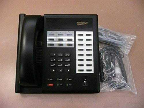 Comdial Uniysn 1122X-FB Black Button Telephone In a Dealing full price reduction popularity 22 Electronic