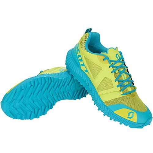 Scott W's Kinabalu - Zapatillas de Running para Mujer, Amarillo/Azul 38