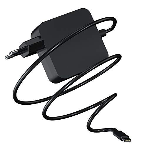 65W Cargador Portail USB C Tipo C para MacBook Air/Pro 13, Lenovo Yoga 920 730 / ThinkPad X1 / Ideapad/Chrombook, DELL XPS, ASUS, Acer, HP EliteBook, Xiaomi Air, Huawei, Samsung, Adaptador Type C