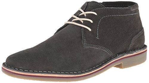 Kenneth Cole Unlisted Men's Real Estate Chukka Boat, Grey, 8 M US