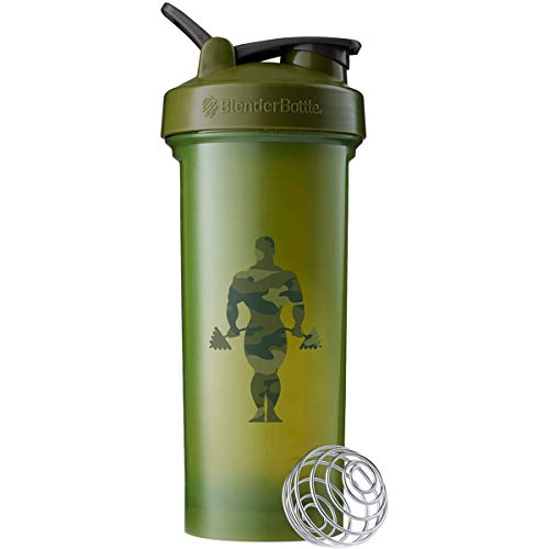 Blender Bottle Classic Shaker Cup | Special Gold's Gym Edition | X- Large 45 ounce Capacity | for Protein Workout Shakes