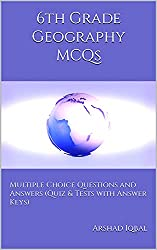 6th Grade Geography Quiz, MCQs & Tests