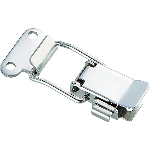 TRUSCO(トラスコ) パッチン錠 鍵穴付バネタイプ ステンレス 2個入 P-31HSUS