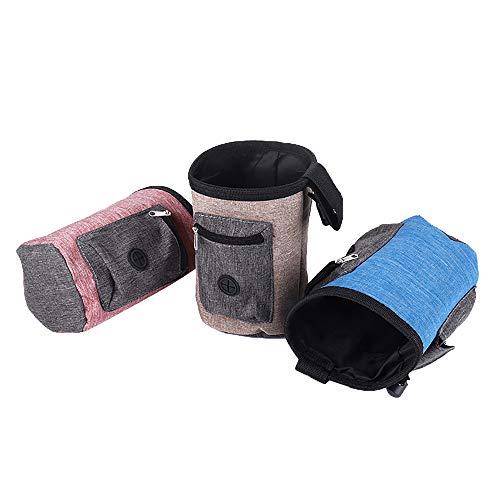 Treat Pouch Dog Treat Tassen Pet Training Tassen met riem Waterdicht voor Pet Training Dog Cat Food Speelgoed blauw