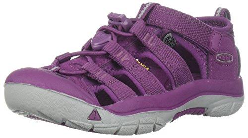 Keen Jungen Unisex-Kinder Newport H2 Sandalen Trekking- & Wanderschuhe, Violett (Grape Kiss Grape Kiss), 30 EU