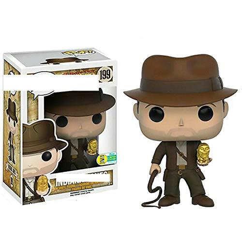 Raiders of The Lost Ark, Indiana Jones Toys Doll Statue da Collezione Anime