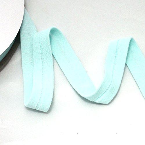Algodón de jersey de cinta al bies – 20 mm – Mint: Amazon.es: Hogar